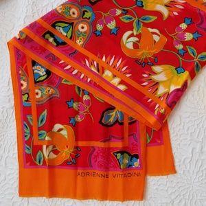 Adrienne Vittadini Vintage Vivid Colors  Scarf